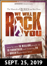 We Will Rock You SEP 25, 2019