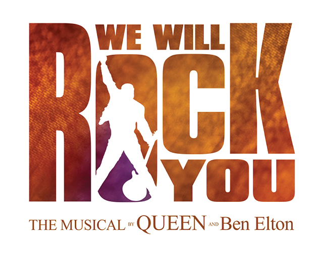 We Will Rock You logo.